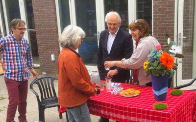 Burgemeester Broertjes op bezoek