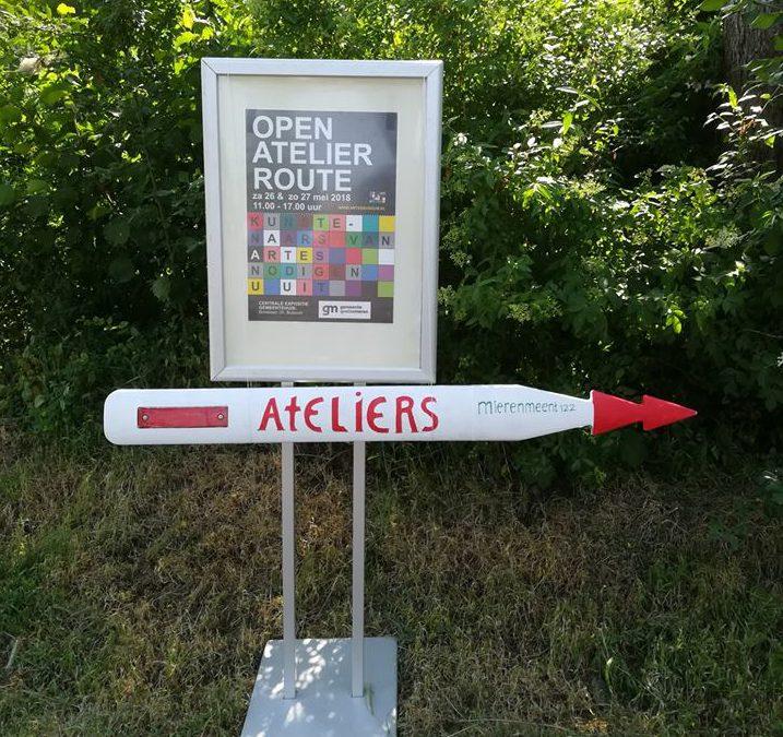 160 bezoekers Open Atelierroute